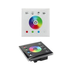 Touch Panel LED Controller Dimmer Switch for Strip Lighting DC12V-24V RGBW Light