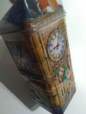 Churchill's Embossed Peter Pan & Friends Flying Over Big Ben Clock Tin Coin Bank