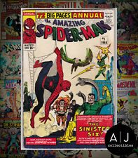 The Amazing Spider-Man Annual #1 (H Marvel W) VG! HIGH RES SCANS!