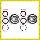 Front Wheel Bearing Kits Wsnap Ring For 1989-2002 Toyota Corolla Pair