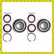 FRONT WHEEL  BEARING KITS W/SNAP RING FOR 1989-2002 TOYOTA COROLLA PAIR