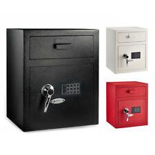 Adiroffice Steel Mountable Digital Security Keypad Depository Safe