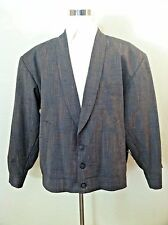 NWT Vintage 40s 50s men suit swing jacket rockabilly rare woven multi color size