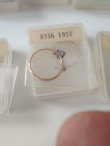 Seiko 4205-0090, Gold Tone Bezel, Genuine Seiko Nos