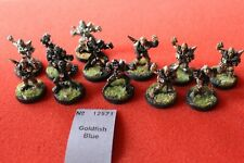 Games Workshop Bloodbowl Undead Champions of Death Team Blood Bowl Painted Metal