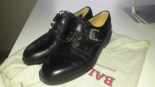 Bally cuir moine, Chaussures Oxford Noir Taille 7UK 41 euro