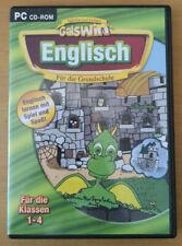 Englisch für die Grundschule 1 - 4 Klasse Galswin LERNSOFTWARE PC CD ROM TOP !!!