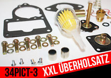 Professionnel repkit Joints Kit De Réparation 34 PICT 3 VW Beetle 1600 Solex 34 PICT - 3