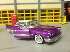 1/64 57 DeSoTo  Adventurer in Candy Lilac/White with White Int with/Hemi & 2-4's
