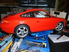 RARE  porsche  911 CARRERA  1995 !! vintage> RTR  rc  1/10  TAMIYA   M-02, vw .!