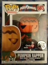 Funko Pop! Power Rangers Pumpkin Rapper 663 Game Stop Exclusive