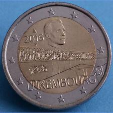 2 Euro  2016 Luxembourg - Luxemburg - Pont Grande Duchesse Charlotte
