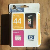 New Genuine HP 51644m #44 Magenta Ink Cartridge Sealed Date: March 2004