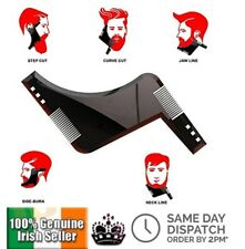 Double-side Comb Beard Shaping Tool Man Beard Trimmer Template Hair Beard Apron