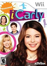 Nintendo Wii Nickelodeon iCarly (COMPLETE)