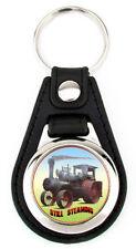 Case Steam Traction Engine Richard Browne Artwork Keychain Key Fob -