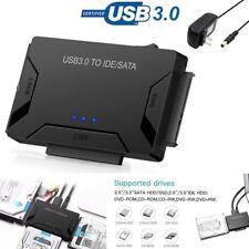 "USB3.0 to IDE/SATA Converter Adapter Kit For 2.5""/3.5"" SATA/IDE/SSD Hard Drive L"