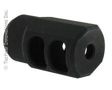 M110 MUZZLE BRAKE FOR RUGER 10/22 BULL BARRELS THREADED 1/2-28tpi & CRUSH WASHER