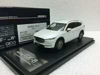1/43 HI STORY HS213WH MAZDA CX8 2017 2018 WHITE PEARL diecast model car