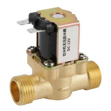 """1/2"""" DC 12 V Normally Closed Brass Electric Solenoid Valve For Water Control TOP"""