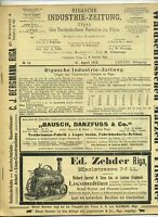 1912 Rigasche Industrie - Zeitung Organ des Technischen Vereins zu Riga
