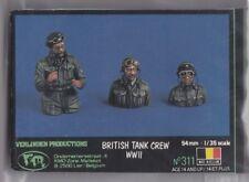 VERLINDEN 311 - BRITISH TANK CREW WWII (NO BOX) - 1/35 RESIN KIT