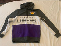 Brand New Los Angeles Lakers Hoodie Sweatshirt Mens Medium