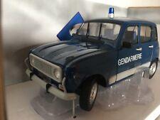 Renault 4L Turbo Gendarmerie 1:18 Solido neu & OVP