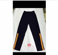 MEN'S JOGGING PANTS - BLACK/YELLOW