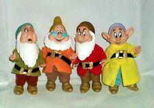 Disney's Snow White And The Seven Dwarfs Simba Moveable Dolls 4 Dwarfs