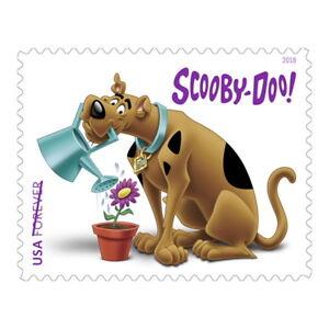 USPS New Scooby-Doo! Pane of 12