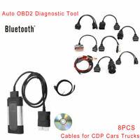 Iveco 38 Pin OBD 2 Diagnostic Adapter Autocom Launch Delphi Würth VCI CDP