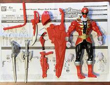 "Power Rangers Super Megaforce Armored Super Mega Red Ranger 7"" Action Figure"
