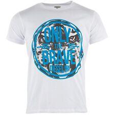 Diesel Men's T-Jonn Graphic Crew Neck T Shirt White