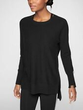ATHLETA Wool Cashmere Stargazer Sweater, NWT, Medium, Black, MSRP $148