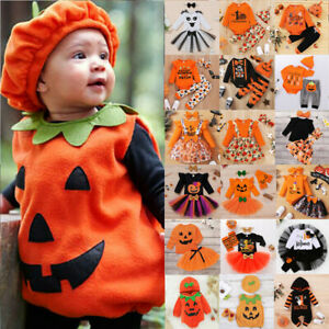 Toddler Baby Boys Girls Halloween Party Fancy Costume Clothes Kids Outfits Set