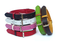 DOG COLLARS AND LEADS IN SOFT FUSION LEATHER FOR THE FASHIONABLE DOG