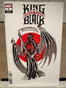 🔥 KING IN BLACK #2 Ian Bederman Tattoo Variant - Marvel Release 12/23/2020 🔥