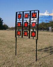 Large Tic Tac Toe Shooting Target Noughts & Crosses Auto Reset Rife Air Gun