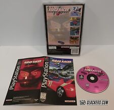 RIDGE RACER (Sony Playstation 1 1994) COMPLETE in orig LongBox!! PS1 PSX Racing!