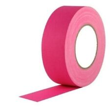 Neon Pink Gaffers Tape 2 Wide X 60 Yrd Roll Gaff