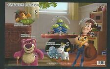 China: Mini sheet of stamps self - adhesive of toy story, mint NH... CI33