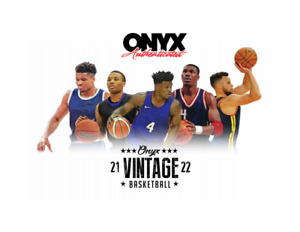 2021/22 Onyx Vintage Collection Basketball Box  - Pre-Order -