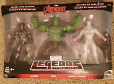 Marvel Legends INFINITE Avengers HULK ULTRON WHITE VISION Figures Target 3 pack