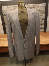 Yves Saint Laurent Jacket Blazer Two Button Wool Blend Made In France Men's 40