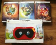 Viewmaster Virtual Reality Starter Pack plus 3 Experience Packs. Free UK P&P