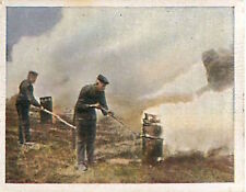 Soldiers smoke Artificial Fog France Deutsches Heer WWI WELTKRIEG 14/18 CHROMO