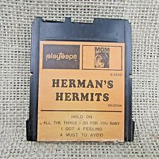 Rare Herman's Hermits Mono 2 Track Tape for Disney Cartridge Player MGM