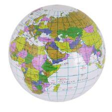 INFLATABLE GLOBE School World Map Beach Ball Pool Party Travel Teaching Prop