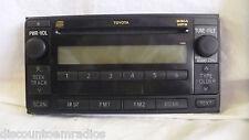 03-07 Toyota 11841 Cd Mp3 Matrix Yaris Celica Highlander Control Panel *